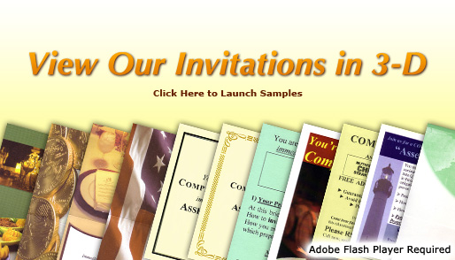View our invitations in 3D